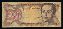 VENEZUELA - 100  Bolivares 1998 Circulado   P-66 - Venezuela