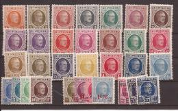 OCB 190 ==> 210 En Andere * Postfris Met  Scharnier - 1922-1927 Houyoux