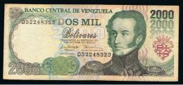 VENEZUELA - 2000  Bolivares 1998 Circulado  P-74 - Venezuela