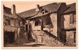 CP, 46, Vieilles Maisons Du Pays Quercynois, Vierge - France