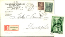 HUNGARY  - GRAPES - On R-postcard - 1943 - Wijn & Sterke Drank