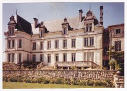 Cliché Photo Création Carte Postale Combier 10.5x14,9 Jarnac (16) Château Des Grands Maisons - Jarnac