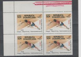 Dominican Republic. Tennis. 1993.  MNH Block Of 4. SCV = 2.60 - Dominicaanse Republiek