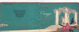 """CALENDARIETTO """"UNICA"""" UNIONE NAZIONALE INDUSTRIA CIOCCOLATO AFFINI     1926 -2-882-17605-604 - Calendars"""