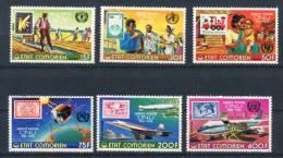 Komoren 298/303 A ** - Comoros