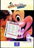 Neckermann Prospekt  -  Euro Disney Hollidays 1994  -  24 Seiten - Catalogues