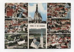 CPM  51 : FISMES  Multi Vues Avec Courville, Crugny, Bazoches Et Longueval  1971    A  VOIR  !!!!!!! - Fismes