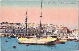 ALGER. Une Vue Des Boulevards Et Des Quais. 440 - Alger