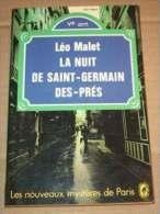 LEO MALET La Nuit De Saint-Germain Des-Prés Nouveaux Mystères De Paris BURMA - Autori Belgi