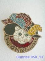 Cartoon Film Soviet: Cat Booted (fairy Tales France, Sharl Pero) / Old Soviet Badge USSR _250_u3280 - Comics