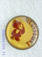 Cartoon Film Soviet: Cheburashka (russia Fairy Tale ) / Old Soviet Badge USSR _250_u3227 - Disney
