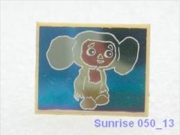 Cartoon Film Soviet: Cheburashka (russia Fairy Tale ) / Old Soviet Badge USSR _250_u3296 - Disney