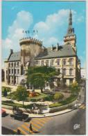 Angouleme: SIMCA ARIANE, RENAULT DAUPHINE, ZEBRA, SOLEX (partial) - L'Hotel De Ville - Auto/Car/Voiture - France - Voitures De Tourisme