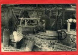 REEDITION CARTE ANCIENNE LANDES UN MOULIN MEUNIER PIQUANT SA MEULE CARTE EN SUPERBE ETAT - Windmills