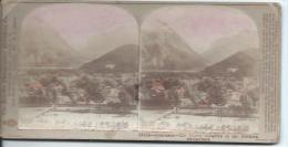 The Fine-Art Photographer's/ Interlaken Switzerland/ LONDRES//Vers 1900-1910  STE3 - Stereo-Photographie
