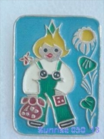Cartoon Film Soviet: Chippollino / Old Soviet Badge USSR 250_u3247 - Disney