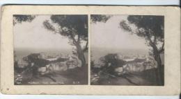 S.I.P./ MONACO/Vue Générale /Le Rocher/Vers 1905-1915  STE7 - Photos Stéréoscopiques