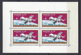ESPACIO - HUNGRÍA 1970 - Yvert #A326 Minipliego - MNH ** - Europa