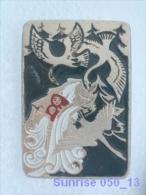 Cartoon Film Soviet: Geese - Swans (russia Fairy Tale) / Old Soviet Badge USSR _250_u3248 - Disney