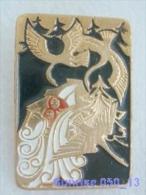 Cartoon Film Soviet: Geese - Swans (russia Fairy Tale) / Old Soviet Badge USSR _250_u3249 - Disney