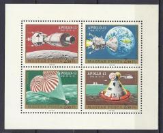 ESPACIO - HUNGRÍA 1970 - Yvert #A329/32 - MNH ** - Espacio