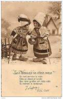"""POUPEES  """"LES VIEILLES DE CHEZ NOUS"""" CARTE SIGNEE,A VOIR !! REF13996 - Jeux Et Jouets"""