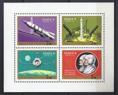 ESPACIO - HUNGRÍA 1970 - Yvert #A333/36 - MNH ** - Espacio