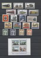 BERLIN Jahrgang 1971 Nr.379-417 Mit Block 3 + Heinemann III, Postfrisch - Berlin (West)