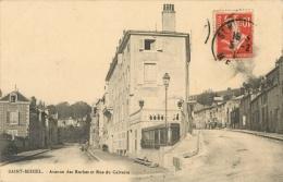 55 SAINTE MIHIEL - AVENUE DES ROCHES ET RUE DU CALVAIRE - Saint Mihiel