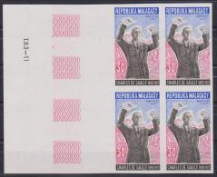 MADAGASCAR  NON DENT/IMPERF  DE GAULLE   YVERT N° 489**MNH - De Gaulle (Generale)