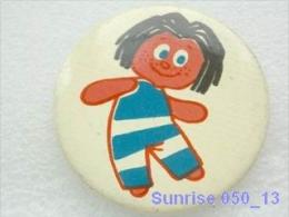 Cartoon Film Soviet: Domovenok Kuzy - Small Home Gnome (fairy Tales Russia)/ Old Soviet Badge USSR _250_u3313 - Disney