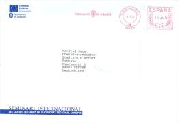 Spanien Sabadell AFS 1994 Stadtverwaltung Wappen - Poststempel - Freistempel