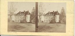 BROSSIER-CHARLOT/Chateau De Thierville/Eure Et Loir /Vers1872-1874      STE19 - Stereo-Photographie
