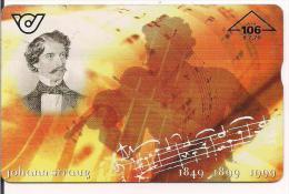 TARJETA AUSTRIA JOHANN STRAUG - Música