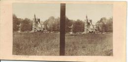 BROSSIER-CHARLOT/Chateau De Bouche D'Aigre/Eure Et Loir /Vers1872-1874      STE21 - Stereo-Photographie