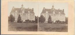 BROSSIER-CHARLOT/Chateau De Glatigny/Prés Mondoubleau//Eure Et Loir /Vers1872-1874      STE23 - Photos Stéréoscopiques