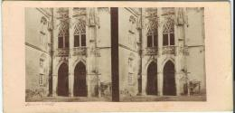 BROSSIER-CHARLOT/ Entrée Du Petit Escalier/Chateau De Chateaudun//Eure Et Loir /Vers1872-1874      STE25 - Stereo-Photographie