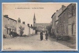 44 - BOUAYE -- La Rue De L'Eglise - Bouaye