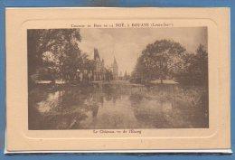 44 - BOUAYE --   Chateau Du Bois De La Noé - Le Chateau , Vu De L'Etang - Bouaye