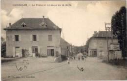 CORBELIN - La Poste Et Avenue De La Gare  (61390) - Corbelin