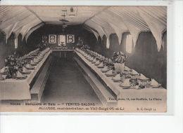 """LE VIEIL BAUGE - Allusse, Musicien-traiteur - Noces, Banquets Et Bals """"tentes-salons"""" - Très Bon état - Other Municipalities"""