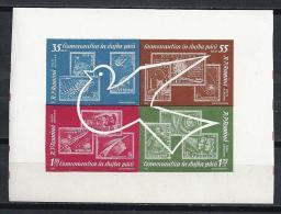 ESPACIO - RUMANÍA 1962 - Yvert #H54 - MNH ** - Espacio