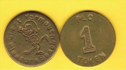 FICHAS - MEDALLAS // Token - Medal - GREAT YARMOUNTH Parque Atracciones - Professionnels/De Société