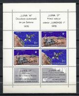 ESPACIO - RUMANÍA 1971 - Yvert #H84 ** - Precio Cat. €15 - Space