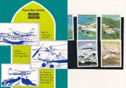 Papua New Guinea 1981 Missionary Aviation Pack PPNG 50 - Papua New Guinea