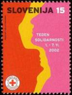 Slovenia 2002 - Red Cross (15 SIT)  MNH Michel Z27 - Slovenia