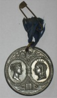 Médaille Commemorative Jubilee Victoria Impress 1837 1887 - Royaux/De Noblesse