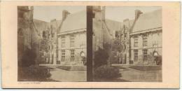 BROSSIER-CHARLOT/Cour Du Chateau De /Chateaudun/ Eure Et Loir/ Vers 1872-1874 STE29 - Stereo-Photographie