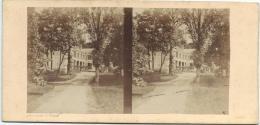 BROSSIER-CHARLOT/Chateau De Bauvoir Prés Cloyes/ Eure Et Loir/ Vers 1872-1874   STE31 - Photos Stéréoscopiques