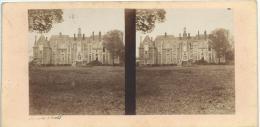BROSSIER-CHARLOT/Chateau De Rougemont/ Loir Et Cher/ Vers 1872-1874   STE34 - Stereo-Photographie